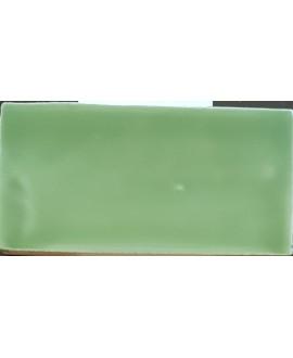 Carrelage DT handmade vert de mer 7.5x15cm