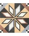 carrelage patchwork 01 color 20x20 cm rectifié au sol et au mur