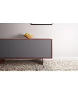 carrelage patchwork 02 color effet carreau ciment 20x20 cm rectifié