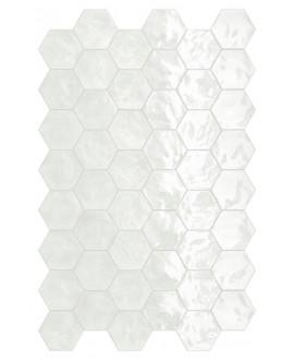 Faience hexagone terralemon brillant 17.3x15cm