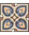 Carrelage patchwork 02 color imitation carreau ciment ancien 20x20cm rectifié, R10