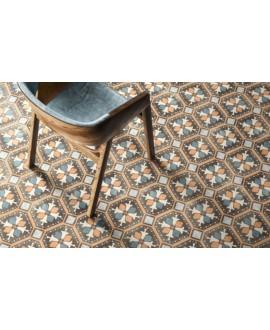 carrelage patchwork 03 color effet carreau ciment 20x20 cm rectifié