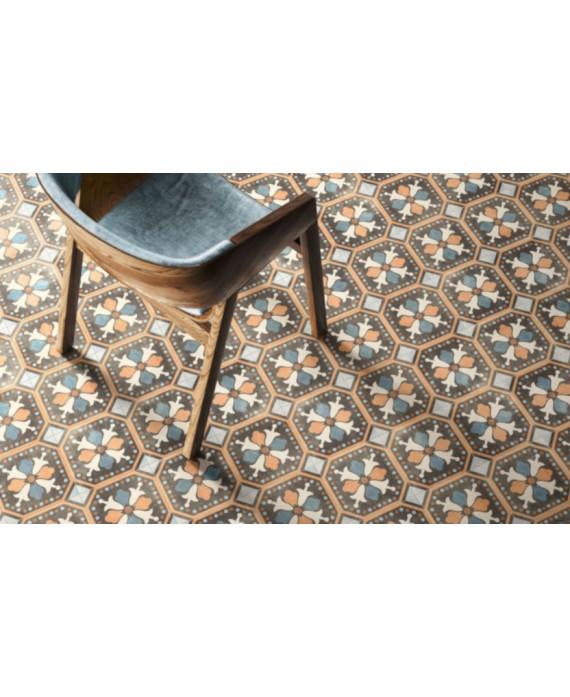 carrelage patchwork 03 color 20x20 cm rectifié