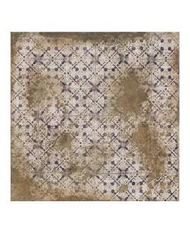 Carrelage imitation pierre ancienne avec décor 33x33cm,  realantigua terra decor mat