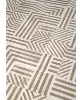 Carrelage patchwork ritual tribal mélangé imitation carreau ciment 20x20cm rectifié