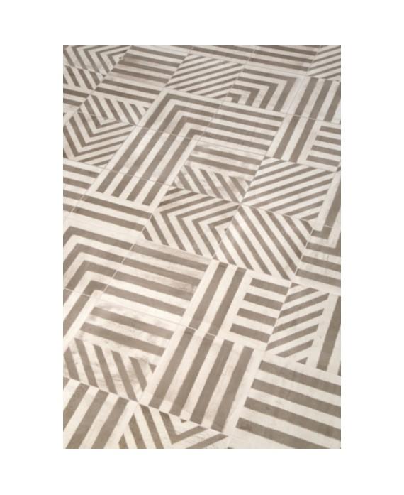 carrelage ritual tribal mélangé effet carreau ciment 20x20 cm rectifié