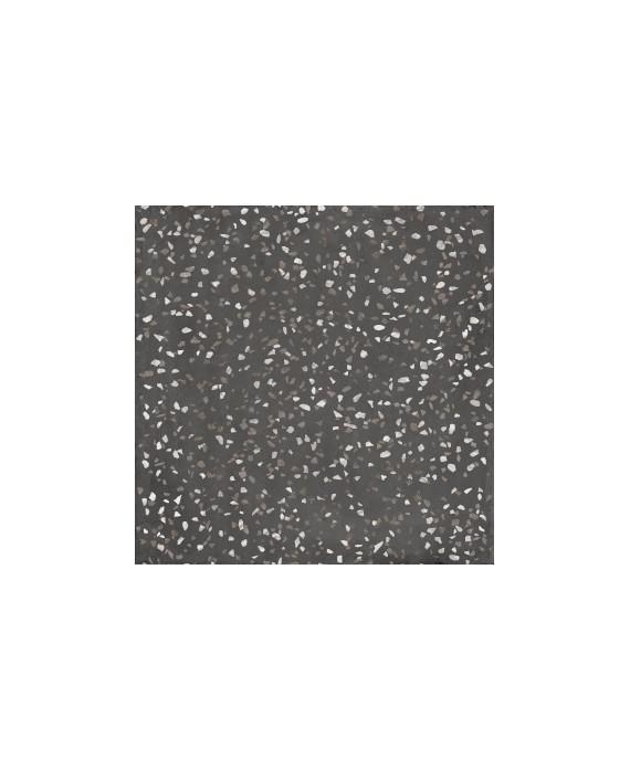 Carrelage imitation terrazzo et granito mat 90x90 cm rectifié,  santaritual dot night