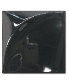 Carrelage 3D brillant difeclipse noir 15x15cm