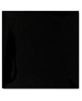 Carrelage 3D brillant difcoussin noir 15x15cm