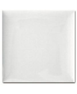 Carrelage 3D brillant difcoussin blanc 15x15cm