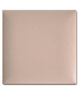 Carrelage 3D mat difcoussin rose poudré 15x15cm