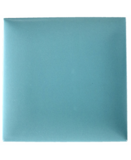 Carrelage 3D mat difcoussin turquoise 15x15cm