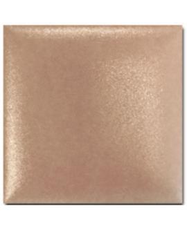 Carrelage 3D satin difcoussin cuivre irisé 15x15cm