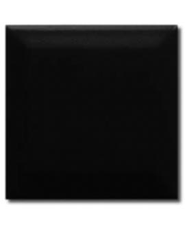 Carrelage métro difbrooklyn noir mat 10x10cm