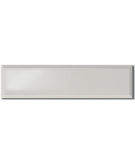 Carrelage métro D gris perle brillant 10x40cm
