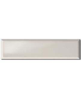 Carrelage métro D ivoire brillant 10x40cm