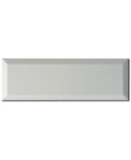 Carrelage métro D blanc mat 7.5x22cm