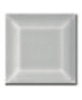 Carrelage métro D blanc mat 7.5x7.5cm