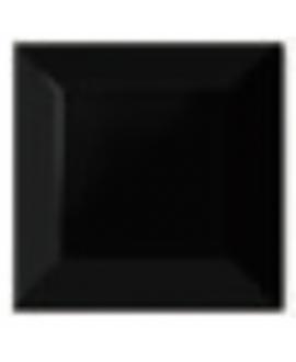 Carrelage métro D noir mat 7.5x7.5cm