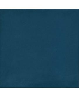 Carrelage imitation carreau de ciment bleu uni ancien 20x20 cm V 1900 bleu