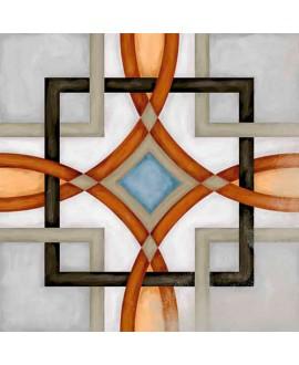 Carrelage imitation carreau de ciment V Fornos 20x20 cm