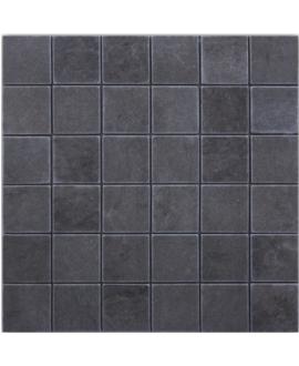 Mosaique D travertin foussana gris 4.8x4.8cm sur trame 30.5x30.5x1cm