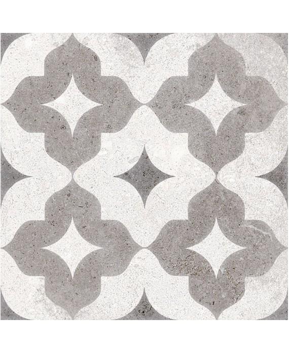 carrelage berkane multicolor effet carreau ciment 20x20 cm