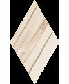 Carrelage imitation marqueterie losange décor 3D, en relief, sol et mur 22x28cm, V adamant1