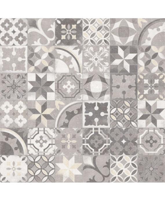 Carrelage imitation carreaux de ciment  patchwork traditionnel 20x20 cm V Berkane multicolor