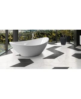 Carrelage diamond realstatuario base imitation marbre blanc 70x40cm