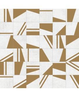 carrelage kokomo blanco oro 20x20 cm