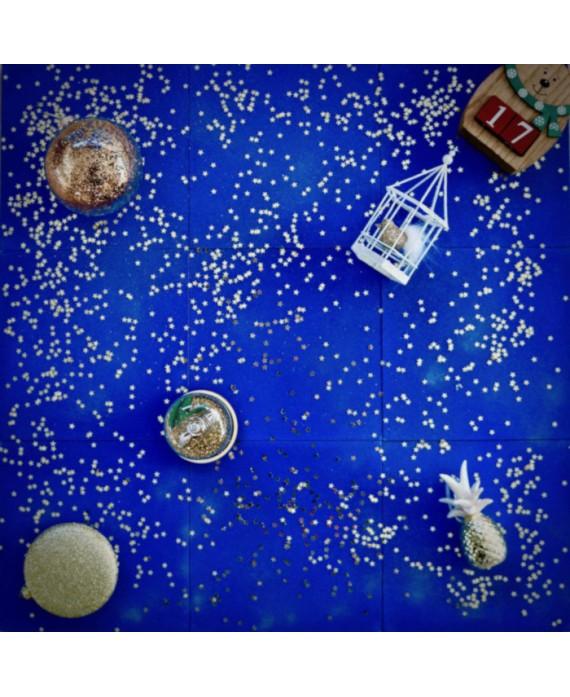 Carrelage Ciment Uni D Bleu Majorelle 20x20cm