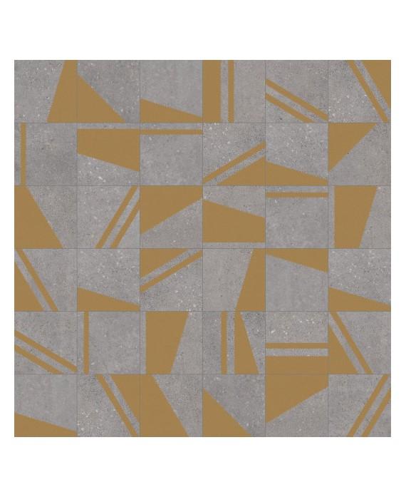 carrelage kokomo grafito oro effet carreau ciment 20x20 cm