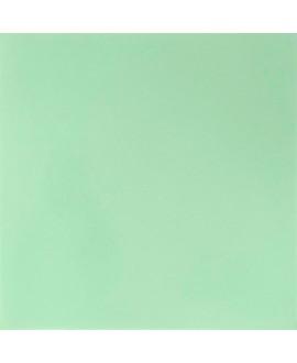 Carrelage ciment uni vert clair amande 20x20cm veritable 53