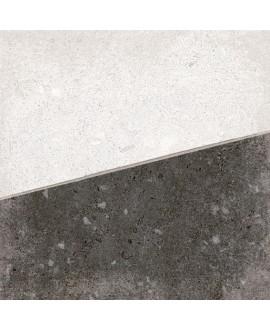 Carrelage imitation carreau ciment blanc 20x20cm V osaka blanco