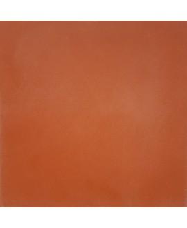 Carrelage ciment rouge cerise uni mat 20x20cm véritable 40