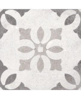 Carrelage imitation carreau de ciment 20x20 cm V pukao blanco