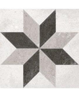Carrelage imitation carreau de ciment 20x20 cm V pukao taito blanco