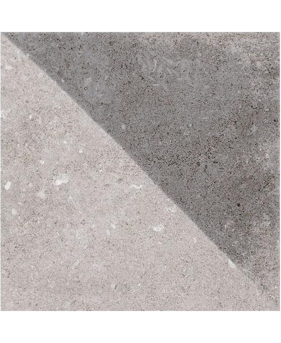 Carrelage imitation carreau ciment 20x20cm V tirol gris