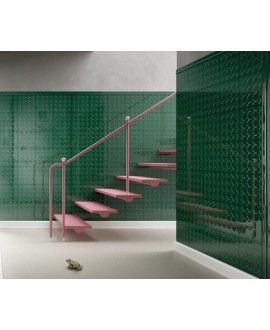 Carrelage VO 3D dekorkorian KRVL 26 vert brillant 26x26x1cm