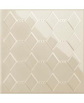 Carrelage VO 3D dekorkorian KRSL 26 beige brillant 26x26x1cm
