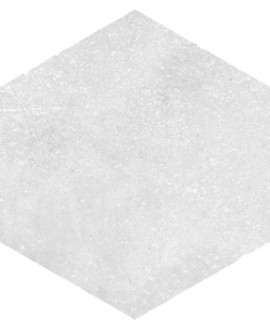 carrelage hexagone rift blanco 23x26.6 cm