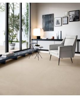 Carrelage imitation pierre moderne mat 90x90cm rectifié, santaritual sand