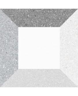 Carrelage imitation carreau ciment 20x20cm V Argileto bianco