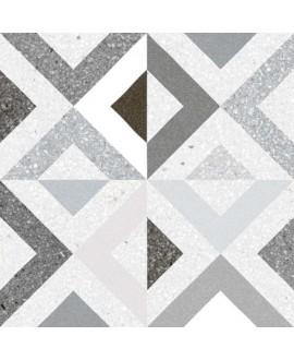 Carrelage imitation carreau ciment 20x20cm V Brenta humo