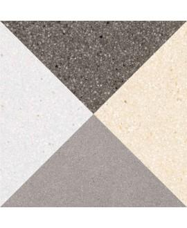 Carrelage imitation carreau ciment 20x20cm V cestio multicolorcm
