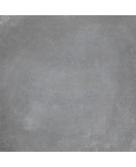 Carrelage cabeton clay mat imitation beton et resine gris moyen antidérapant 60x60cm rectifié