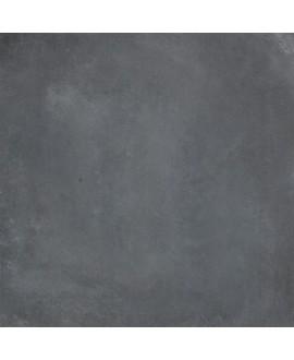 Carrelage cabeton land mat imitation beton et resine gris bleu foncé antidérapant 60x60cm rectifié