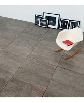 Carrelage imitation parquet moderne , 15x120cm, rectifié, Santablend gris