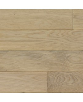 parquet  chêne massif huilé  , largeur 150 mm  , vienna XL white
